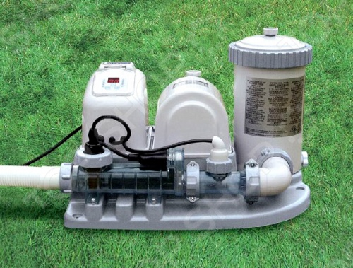 Фильтр-насос и система соленой воды для бассейна Intex 54612