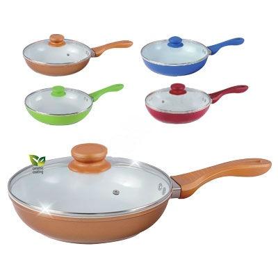 Сковорода Bohmann BH-750WCR  сковорода bohmann с крышкой с керамическим покрытием цвет оранжевый диаметр 24 см 7524bhwcr