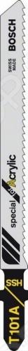 Набор пилок для лобзика Bosch T 101 А HSS