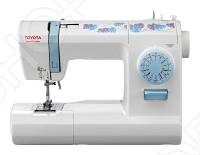 Машинка швейная TOYOTA ECO15CB электромеханическая швейная машина с горизонтальным челноком. TOYOTA ECO15CB оснащена всеми необходимыми функциями, которые необходимы для шитья, среди которых: пошаговая регулировка длины строчки и ширины зигзага, регулировка баланса петли, швейный советчик. Также регулируется натяжения нижней и верхней нити. В TOYOTA ECO15CB есть функция намотки шпульки от главного вала и шитье двойной иглой.