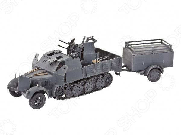 Сборная модель полугусеничного тягача Revell Sd.Kfz. 7/1 б у резину для американского тягача