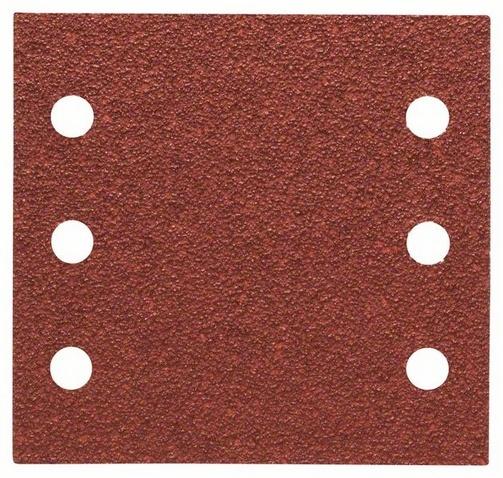 Набор листов для виброшлифмашин Bosch Best for Wood, 6 отверстий, 10 шт. шлифовальная машина bosch gss 230 ave professional