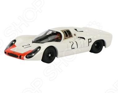 Модель автомобиля 1:43 Schuco Porsche 908KH № 21Модели авто<br>Модель автомобиля 1:43 Schuco Porsche 908KH 21 это коллекционная модель, которая является копией настоящего автомобиля. Она изготовлена из металла с элементами пластика. У машинки открываются двери, двигаются колеса. Машинка является отличным подарком не только ребенку, но и коллекционеру. Однако, во время игры с такой машинкой у ребенка развивается мелкая моторика рук, фантазия и воображение.<br>