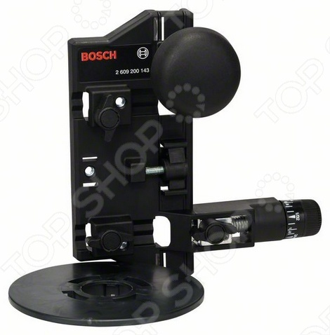 Циркуль фрезерный и комплект переходников направляющей шины Bosch 2609200143