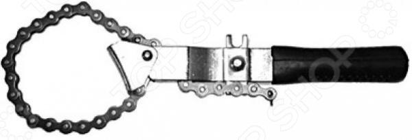 Съемник масляного фильтра цепной усиленный FIT 64791