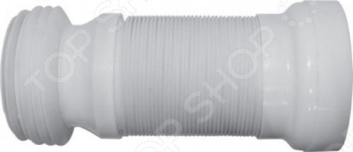 Гофрированный переходник для унитаза 320-530 мм незаменимая деталь для подключения унитаза к канализации. Преимуществом гофрированных манжет является то, что их можно изгибать под любым углом и вытягивать по длине. Деталь изготовлена из пластика.