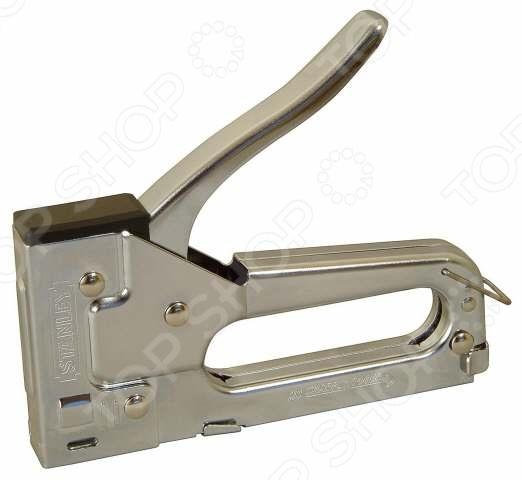 Степлер STANLEY TR45 Light DutyПистолеты. Степлеры строительные<br>Степлер STANLEY TR45 Light Duty представляет собой отличный инструмент, который поможет выполнить все необходимые работы качественно и в срок. Используя его вы сможете без особых трудностей осуществить закрепление обивки мебели, различных плакатов, проволочной сетки и многих других предметов, а так же материалов быстро и надежно.<br>