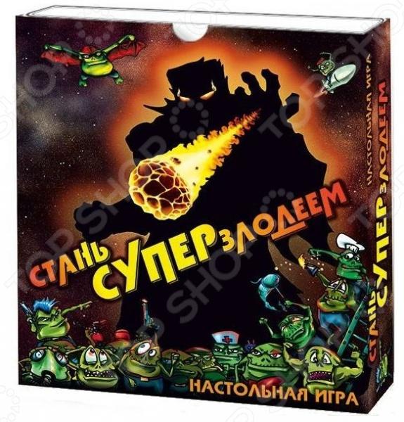 Игра карточная Правильные игры «Стань суперзлодеем»