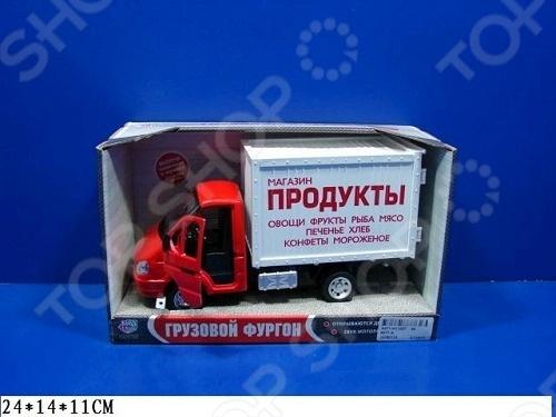 Машина инерционная Joy Toy «Газель фургон Продукты» Р40514