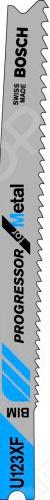 Набор пильных полотен Bosch U123 X HSS brand new hss trapezoidal metric tap left hand tr 12mm x 2