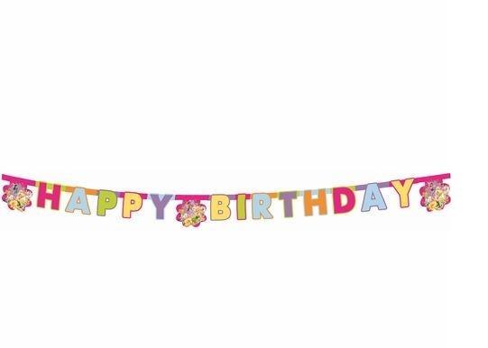 Гирлянда детская Procos «Долина фей-Happy Birthday»