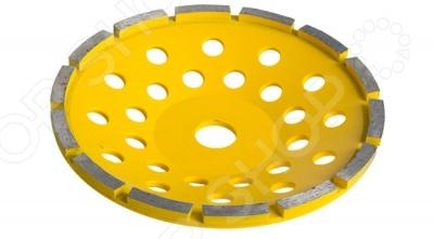 Чашка шлифовальная по бетону Stayer Master 33382Насадки для шлифования, полировки, чистки<br>Алмазная чашка шлифовальная по бетону Stayer Master 33382 применяется в строительстве, а также специалистами по обработке камней. В первую очередь предназначен для профессионалов в области монолитного строительства. Также позволяет исправлять неровности стен и полов. Подходит для угловых и мозаично-шлифовальных машин с посадочным диаметром 22.2 мм. Выдерживает максимальную линейную скорость вплоть до 80 м с. Не нуждается в водяном охлаждении.<br>