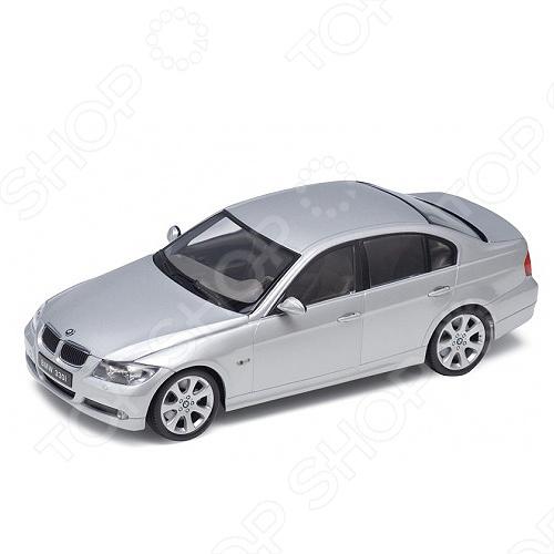 Модель машины 1:18 Welly BMW 330I. В ассортиментеМодель машины 1:18 Welly BMW 330I это коллекционная модель, которая является копией настоящего автомобиля. Она изготовлена из металла с элементами пластика. У машинки открываются двери, двигаются колеса. Машинка является отличным подарком не только ребенку, но и коллекционеру. Однако, во время игры с такой машинкой у ребенка развивается мелкая моторика рук, фантазия и воображение.<br>