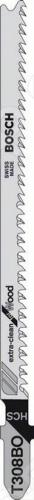 Набор пилок для лобзика Bosch Т 308 ВO HCS пилки для лобзика по металлу для прямых пропилов bosch t118a 1 3 мм 5 шт