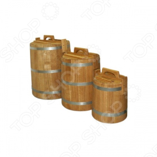 Кадка для воды и заготовки солений Банные штучки 33230
