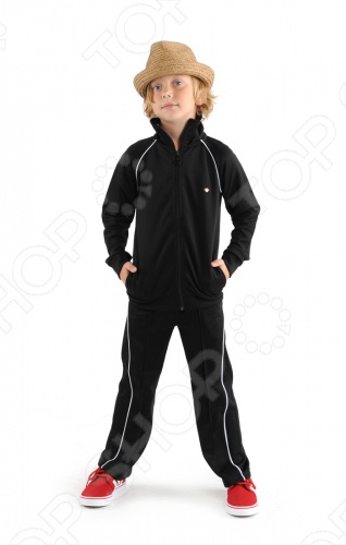 Костюм спортивный Appaman Track SuitДетская спортивная одежда<br>Appaman - основан в 2003 году дизайнером Харальдом Хузуме. Appaman имеет уникальный взгляд на скандинавский стиль AMERIPOP. Хузум находит вдохновение на улицах Бруклина и переводит его в свою постоянно меняющуюся палитру ярких одежд. Appaman, воплощая свои яркие творческие проекты, не забывает об удобстве и качестве для маленьких и главных людей. Вы считаете, что детская одежда должна быть не только удобной, но также стильной и индивидуальной Тогда бренд Appaman USA для Вас! Костюм спортивный Appaman Track Suit - детский спортивный костюм от известного бренда Appaman выполнен из качественного материала. Олимпийка с воротником-поло, застегивается на молнию. По бокам врезные карманы. Брюки дополнены вшитой резинкой на талии, по бокам врезные карманы. Состав: 100 полиэстер.<br>