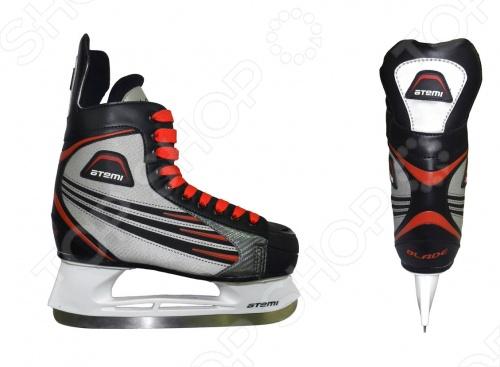 Коньки хоккейные Atemi BLADE RED