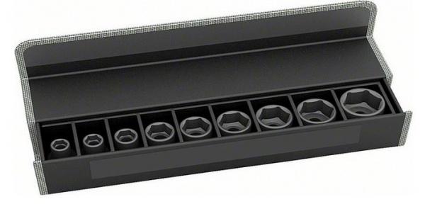 Набор головок для торцевых ключей Bosch 2608551096 набор сменных головок и насадок topex 38d669
