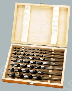 Набор винтовых сверл Herz HZ-B008AG-A набор инструментов herz 11 предметов hz 482