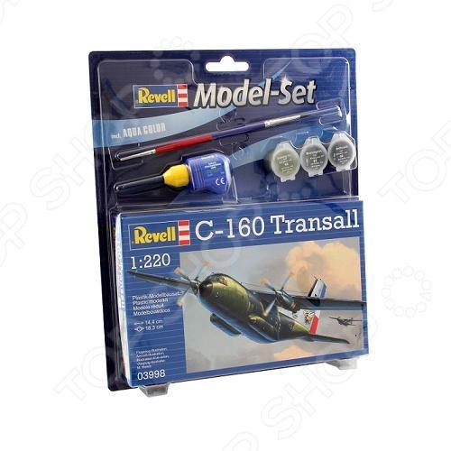 Сборная модель самолета Revell C-160 Transall сборная модель revell самолет fairey gannet t 5