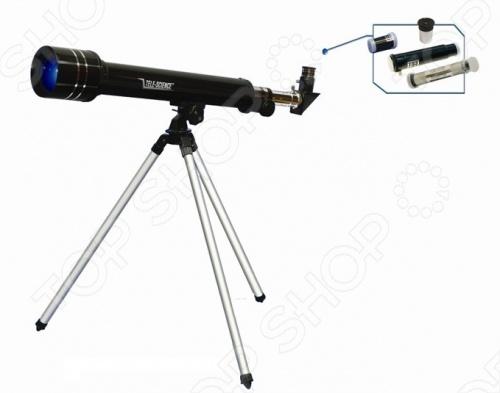 Набор обучающий Eastcolight «Телескоп» 3066 eastcolight набор для исследований телескоп и микроскоп