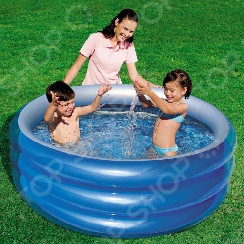 Бассейн надувной Bestway 51042 надувной бассейн bestway сафари 53030