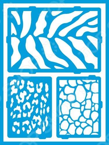 Трафарет декоративный для стекла и других поверхностей DecoArt Americana Сафари