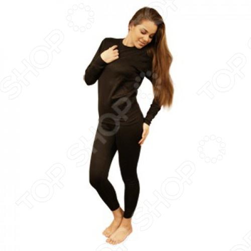 Термобелье CRATEX женское всегда согреет вас в холодное время. Термобелье позволит вам чувствовать себя комфортно при любом морозе. Материал из которого сделан комплект мягкий, тонкий, долговечный и необычайно комфортный. Использование хитина выгодно отличает термобелье Кратекс от любого другого нательного белья. Этот трикотаж как бы приспосабливается к окружающей температуре и к интенсивности потоотделения. Поэтому его можно использовать в широком диапазоне температур от 10 С до -40 С . При этом вы чувствуете себя абсолютно комфортно, так как ткань регулирует тепло и влагообмен человеческого тела. Специальная трехслойная структура ткани обеспечивает надежную защиту от холода даже при очень низких температурах. Хитиновое волокно биологически активно, вследствие чего оказывает лечебный эффект при аллергическом дерматите, зуде, чрезмерном потоотделении, экземе и воспалительных процессах кожи. Материал обладает бактериостатичными свойствами, предохраняет от грибка, серонегативных и сероположительных бактерий. Трикотаж из хитинового волокна предохраняет кожу от потери влаги и регулирует баланс температуры и влажности между одеждой и телом. Белье рекомендуется использовать людям, проводящим длительное время на холоде по роду своей деятельности, а также прекрасно подойдет для повседневного ношения.