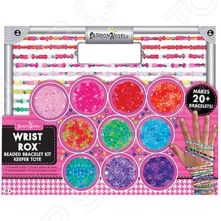 Набор для плетения из бисера Fashion Angels «Wrist rox» набор для плетения фенечек fashion angels школа монстров