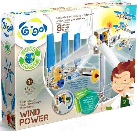 Конструктор развивающий Gigo «Энергия ветра» конструктор развивающий gigo 7368 оптические эксперименты
