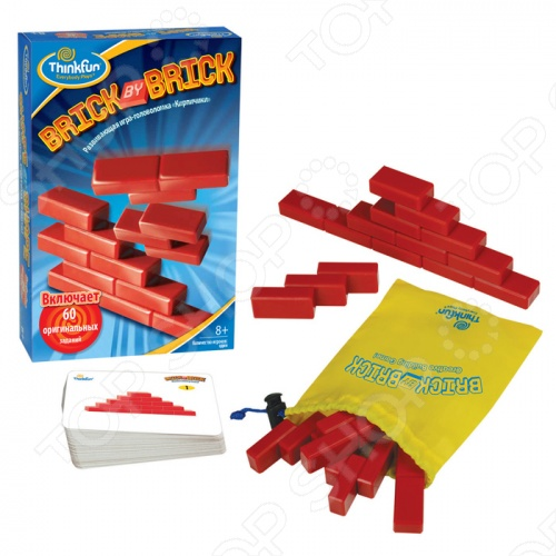 Игра-головоломка Thinkfun «Кирпичики» thinkfun кубическая головоломка tipover