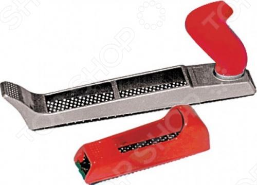 Рашпиль обдирочный металлический служит для зачистки и выравнивания обрабатываемой поверхности. Оснащен эргономичной переставной рукояткой, изготовленной из полипропилена, что обеспечивает надежный захват во время работы. Прочный металлический корпус обеспечивает длительный срок эксплуатации, даже при максимальных нагрузках.