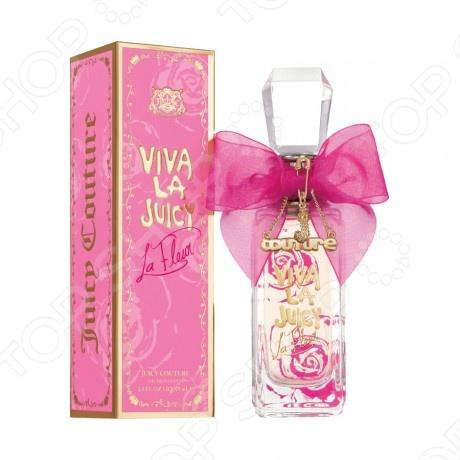 Туалетная вода для женщин Juicy Couture Viva La Juicy La Fleur, 40 мл цена и фото
