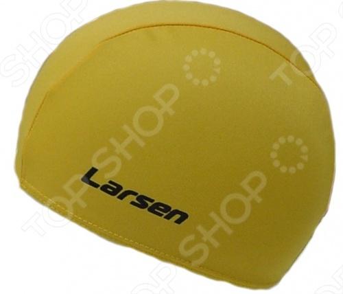 Шапочка для плавания Larsen 3220D Шапочка для плавания Larsen 3220D /Желтый