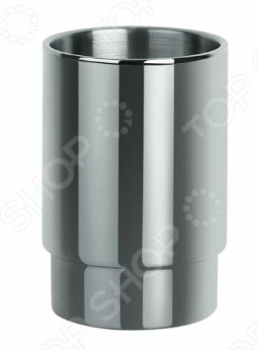 Стакан Spirella NYOАксессуары для ванной комнаты<br>Стакан Spirella NYO - это прекрасный аксессуар в вашу ванную комнату. Благодаря такой вещице зубные щетки всегда будут на месте в этом красивом и стильном стакане. Стакан выполнен из акрила. Данная модель создаст особую атмосферу уюта и обеспечит максимальный комфорт в ванной комнате. Размер - 6,5 x 9,5 см.<br>