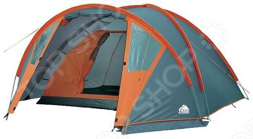Палатка Trek Planet Hudson 3Палатки<br>Hudson 3 - это отличная трехместная, трекинговая палатка в форме полусферы, с хорошей вентиляцией, которая подойдет для длительных походов. Каркас из прочных и легких композитных дуг. Тент оборудован противомоскитной сеткой, оснащен водостойкой пропиткой и защищает от воды во время дождя. Для удобного хранения и транспортировки предоставляется чехол.<br>