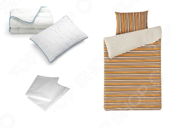 Фото Набор Dormeo Dream set. 1-спальный. Цвет: синий