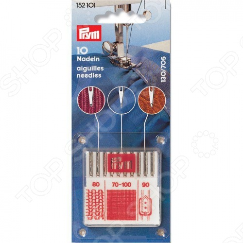 фото Иглы для швейных машин Prym 130/705, Аксессуары для швейных машин