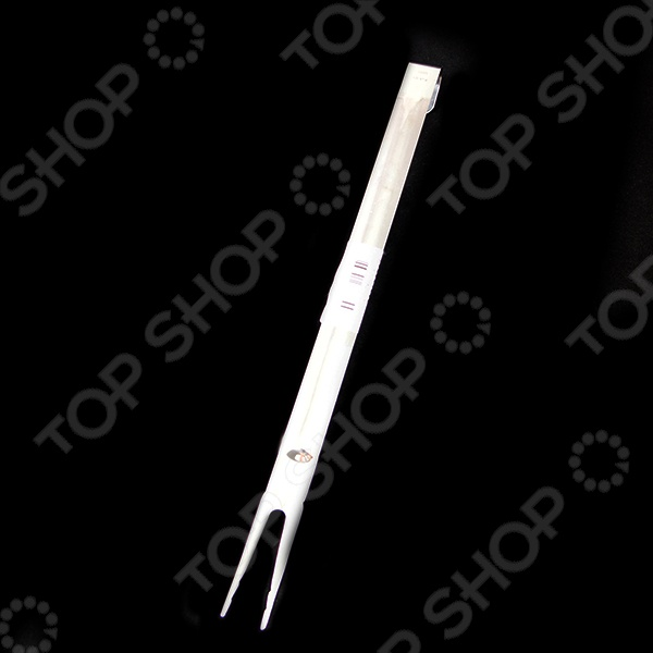 Вилка поварская АМЕТ 1с19 очень удобна в использовании. Модель изготовлена из высококачественной нержавеющей стали, ручка - пластиковая. Транжирная вилка используется для сервировки кусков мяса или рыбы.