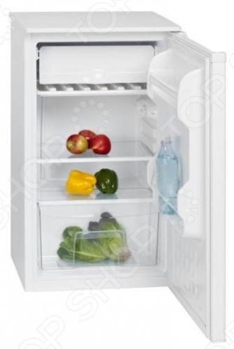 Холодильник Bomann KS261 с плавной регулировкой температуры в диапазоне от 0 до 10. Размораживание: ручное. Перенавешиваемая дверца. Регулируемые ножки. 2 полки из стекла. 2 ячейки на двери холодильника. 1 ящик для овощей. Лоток для льда.