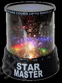 Проектор-ночник звездного неба 31 ВЕК P9204 ночник bradex звездное небо