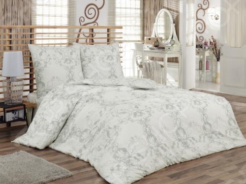 Комплект постельного белья Tete-a-Tete Метель евро, необыкновенно нежный и красивый - станет украшением любой спальни и подарит крепкий и здоровый сон. Ваша постель будет выглядеть безупречно. Лёгкость и шелковистость ткани после стирки ещё больше усилится, поэтому спать на этом белье со временем станет ещё приятнее. Наволочки с клапанами не имеют пуговиц и молний, которые могут поранить кожу во сне. Все изделия комплекта - цельнокроеные, и не имеют грубых швов. Комплект изготовлен из 100 хлопка, плотность 140 г м2. Стирать изделия следует при температуре не выше 30С с использованием щадящих отбеливающих средств, высокотехнологичных моющих средств и ополаскивателей. При стирке изделия не линяют и обладают минимальной усадкой. Комплект упакован в подарочную коробку.
