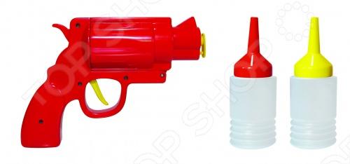 фото Диспенсер для кетчупа и горчицы Mustard Condiment Gun, Соусницы. Креманки. Пиалы