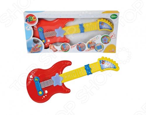 фото Гитара Simba игрушечная 4010529, Игрушечные музыкальные инструменты
