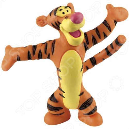 Игрушка-фигурка Bullyland ТигруляФигурки супергероев и других персонажей<br>Игрушка-фигурка Bullyland Тигруля из популярного мультфильма студии Уолта Диснея станет отличным подарком для любого ребенка. Яркие цвета и большое внимание к деталям позволяют игрушке надолго погрузить детей в фантастический мир сказок, развивая мышление и воображение. Изделие выполнено из высококачественного нетоксичного каучука, поэтому полностью безопасно для ребенка.<br>