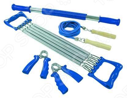 Набор эспандеров Iron Body 1211SE эспандер грудной iron master ir97616