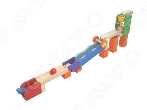 фото Игрушка развивающая Wonderworld «Трикс-Трек. Вращай-кати», Деревянные игрушки для малышей