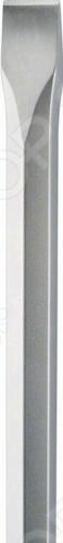 Зубило плоское Bosch 2608690108 представляет собой инструмент с плоским рабочим профилем в форме лопатки, который применяется с перфоратором для удаления плитки и штукатурки.