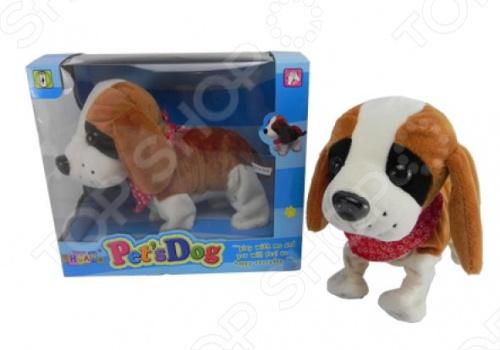 Мягкая игрушка интерактивная Собачка CL1187