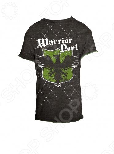Футболка Warrior Poet Phoenix Argyle-SS T-ShirtФутболки для мальчиков<br>Линия Warrior Poet - это нечто большее, чем стильная одежда для мальчишек. Смелый крой, ткани, имитирующий тусклый блеск благородной стали, символы, сочетающие высокую поэзию древности с остроумием современных дизайнерских решений. Как гласит девиз компании, Мы создаем современную броню из одежды для нового поколения: мы поможем мечтать больше, идти дальше и выглядеть лучше . Материал 100 чесаный хлопок, без добавления синтетики. Если модели с модным сейчас приталенным силуэтом. По горловине идет вставка с лайкрой изнутри, чтобы воротник не растягивался и не деформировался. Края обработаны очень аккуратно. Цветовая палитра выше всяких похвал. Футболка Warrior Poet Phoenix Argyle-SS T-Shirt решена в темно-сером цвете и декорирована на груди ярким принтом в виде орла и белым принтом с логотипом фирмы, а так же фигурной строчкой у воротника. В этой яркой футболке можно заниматься спортом или ходить на прогулку. Футболка Warrior Poet Phoenix Argyle-SS T-Shirt является ярким представителем стиля casual. Сейчас она особенно популярна и выполнена из экологически чистых и безопасных материалов и красок. Грамотный крой и высококачественный хлопок обеспечивают хорошую посадку по фигуре. Декоративно обработанные швы придают изделию стильное внешнее оформление.<br>